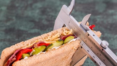 measuring a sandwich